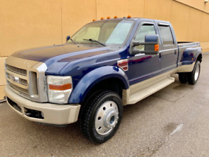 2008 FORD F-450 KING RANCH CREW CAB DUALLY DIESEL ! GREAT DEAL !