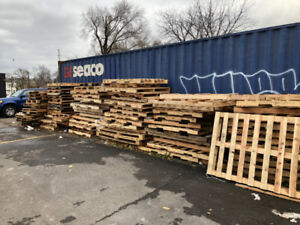 FREE SKIDS OR FIRE WOOD