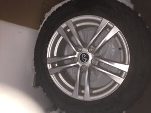 Mag et pneus d'hiver / Mags and winter tires