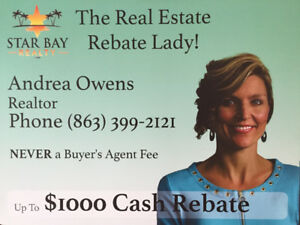 Want $2000 CASH?  Thinking of buying a 2nd home in sunny FL?