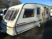 SWIFT CHALLENGER 500SE DOUBLE DINETTE 4 5 BERTH TOURING CARAVAN