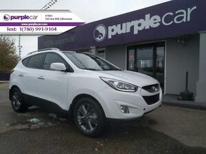 2014 Hyundai Tucson 2.4L GLS  Heated front and rear seats blueto