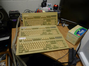 Vintage DIN and PS/2 Keytronic Keyboards