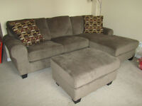 Love seat , lounge and ottoman