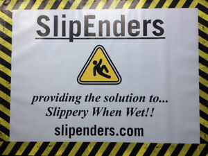 SlipEnders - Invisible, Non-Slip Tub & Tile Treatment