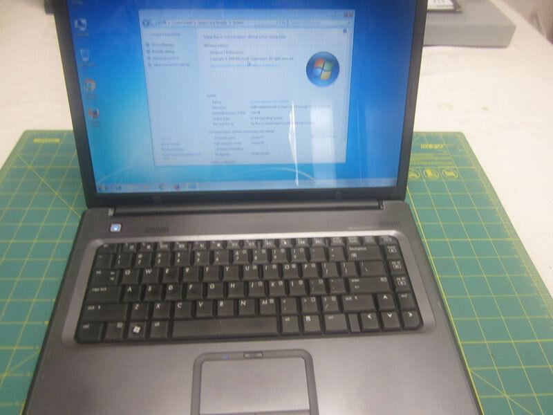 HP Compaq Presario F700 15.4 AMD Athlon64 x2 1.9GHz 160GB 2GB Win7Pro Office2010