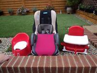 Job lot of infant seats