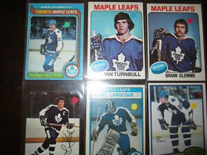 1970's Toronto Maple Leaf Cards $4 each EX/NM/MT Windsor Region Ontario image 1