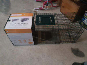 Live Catch Cage Traps - large and small