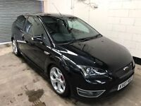 2007 Ford Focus St *Stage 3 Mountune* Black Heated Recaro Leather, Air Con Immaculate Warranty