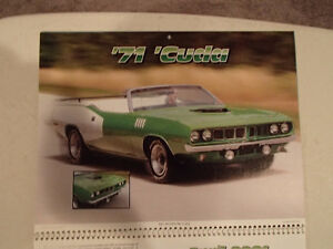 New 2001 MEMORABLE MUSCLE CARS 12 Month CALENDAR. Issued by APC. Sarnia Sarnia Area image 5