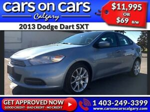 2013 Dodge Dart SXT $69B/W INSTANT APPROVAL, DRIVE HOME TODAY!