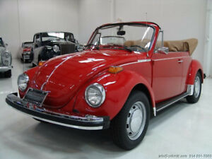 Looking for a vintage 1978 - 1960 Volkswagen Beetle in running o