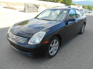 2004 Infiniti G35 Auto 156000KMS Great Condition