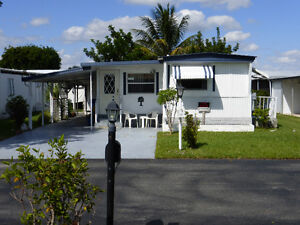 location maison mobile Deerfield beach, Floride