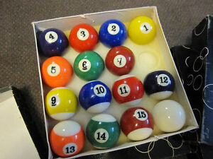 Billiard Balls - Traditional Sets ( Missing 8-Balls) - in Box Kitchener / Waterloo Kitchener Area image 6