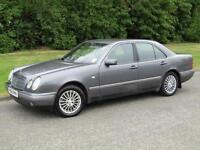 1998 Mercedes-Benz E300 3.0TD auto Elegance 4 Door Diesel Saloon