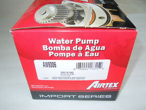 Airtex AW5048 Engine Water Pump - 1995 - 2010 Toyota Lexus