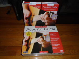 Learn to play guitar DVD 12 pc set.