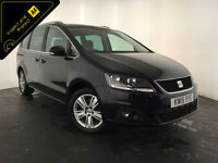 2015 SEAT ALHAMBRA SE ECOMOTIVE TDI DIESEL 7 SEATER 1 OWNER FINANCE PX