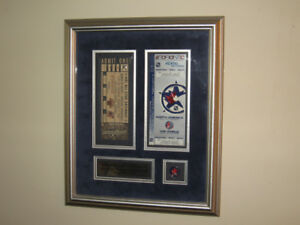 Commemorative NHL Plaque 2000