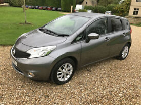 2015 (65) Nissan Note 1.5dCi ( 90ps ) Acenta Premium 5dr ONLY 22,000 MILES