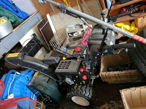 "Yardworks 30"" Snowblower - 357CC - Barely Used - $650 OBO"