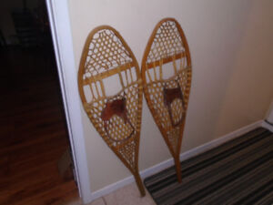 1 pair of snowshoes