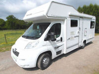 Elddis Suntor 180 - 6 Berth - 6 Belts - Front Dinette - Rear U-Shape Lounge