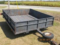 Excellent Condition Tilt Trailer for Sale