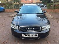 Audi A4 AVANT 1.9 TDI SE 5dr HPI CLEAR+6 MONTHS WARRANTY