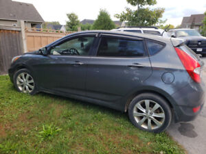 2013 Hyundai Accent with Btooth, WeatherTech, heated seats &more