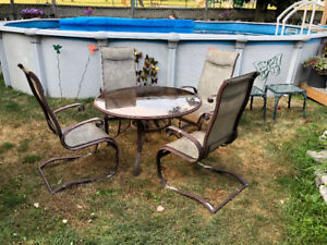 Patio Dining Set - REDUCED