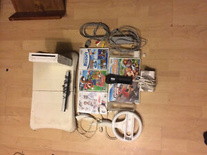 Nintendo Wii w/lots of games, Wii fit and more