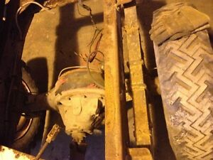D700, 1961 dodge truck frame and driveline (parting out)