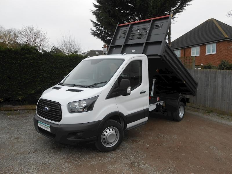 3001d590dc Ford Transit 350 L2 RARE ALL STEEL BISON TIPPER 2.0 130ps Euro 6