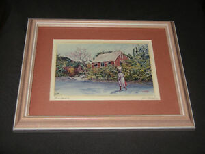 Victor Collector 1994  Framed Art Print BARBADOS...now $5