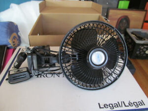 Ventilateur a pince 12 volts