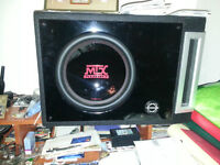 MTX sub and Rockfosgate Punch P325.1