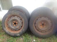 Goodyear NORDIC Tires w/Rims