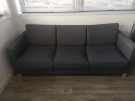 Jenna 3 seat sofa - Charcoal