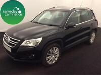 £224.27 PER MONTH BLACK VW TIGUAN 2.0 TDI 170 SPORT 4MOTION DIESEL MANUAL