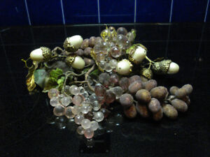 Collection of Grapes and Nuts