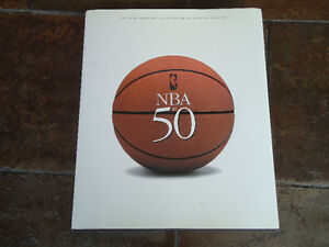 THE NBA AT FIFTY 1ST EDITION 1ST PRINTING