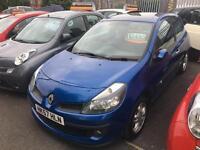 Renault Clio 1.4 16v 98 ( a/c ) Dynamique Blue MOT Low Insurance