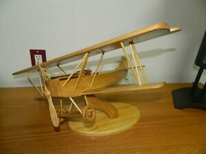 Hand Carved Airplane