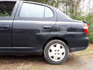 2001 toyota echo for parts or repair.