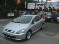 2005 PEUGEOT 307 CC 1.6L CONVERTIBLE IDEAL SUMMER CAR