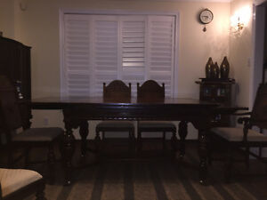 Handcrafted Dining Table and Cabinet Peterborough Peterborough Area image 6
