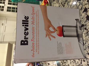 BREVILLE JUICE FOUNTAIN _ NEW
